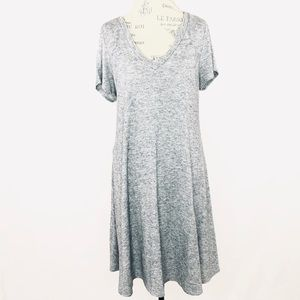 Torrid Hacci Knit Trapeze Sweater Dress Sz 2